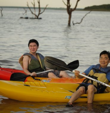Kayaking and other water sports