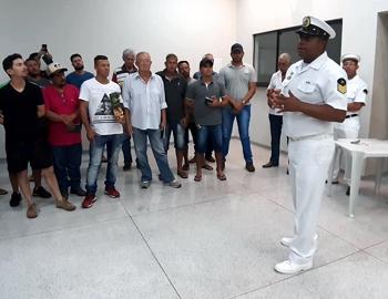 Agência Móvel da Marinha do Brasil em Ilha Solteira