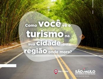 Como você vê o turismo na região?