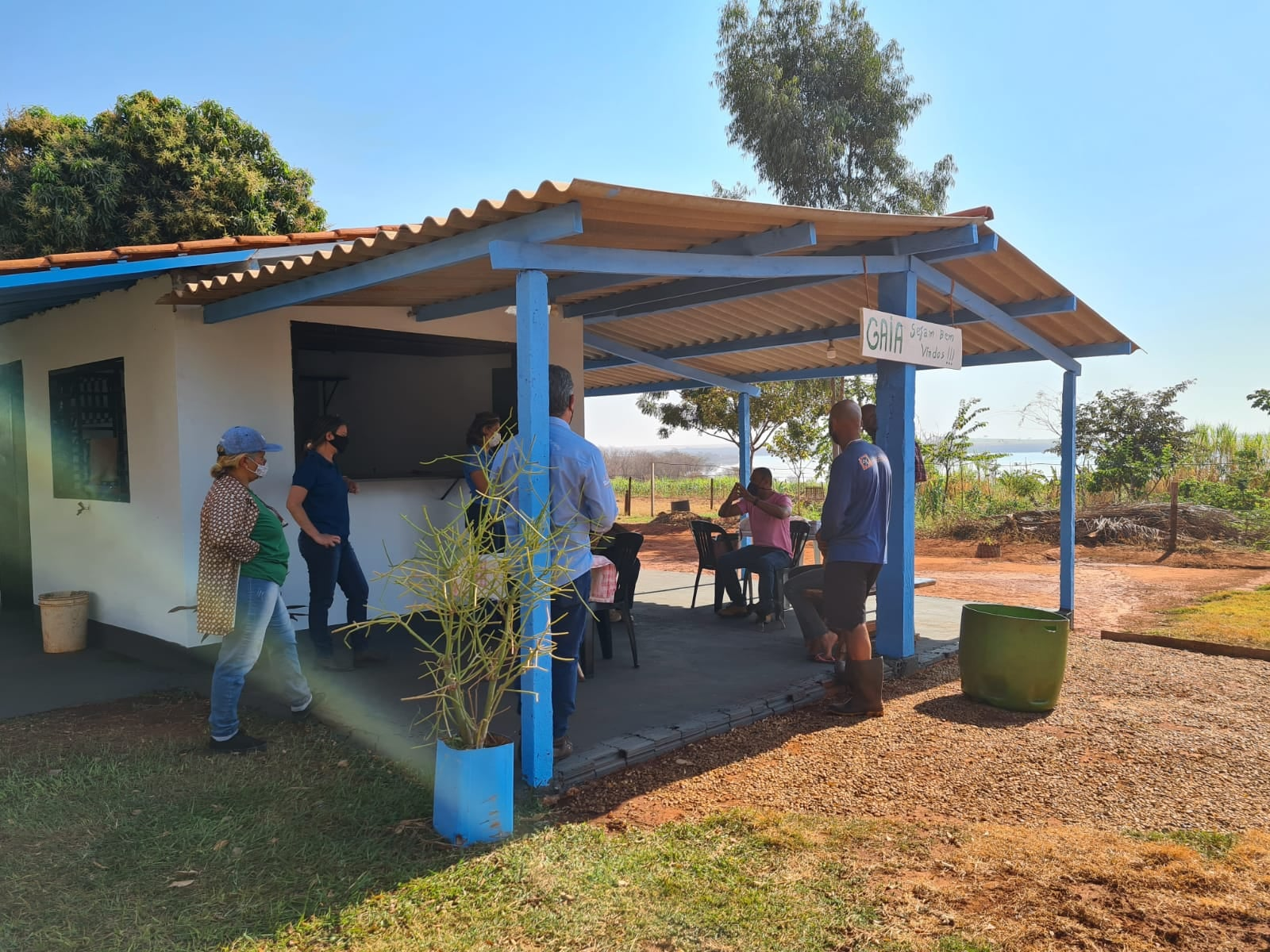"""""""Espaço Gaia"""" em breve será o primeiro ponto de turismo rural."""