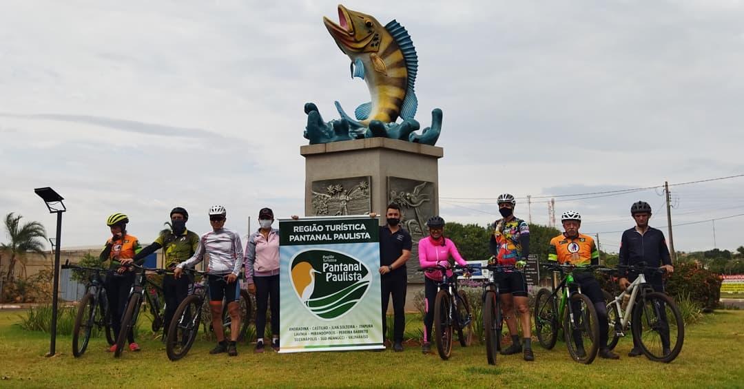 Demarcada Sinalização de Rotas e Placas do Ciclismo da Região