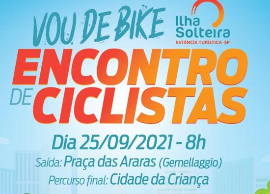 """Encontro de Ciclistas """"Vou de Bike"""""""